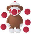 Sock Monkey Popper