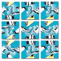 Penguins Scramble Squares® picture