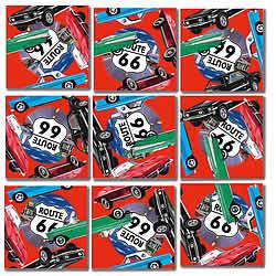 Classic Cars Scramble Squares® picture