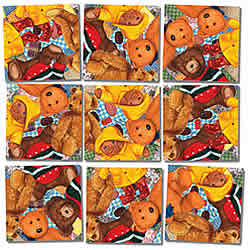 Teddy Bears Scramble Squares® picture