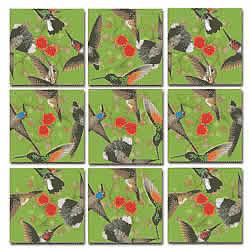 Hummingbirds Scramble Squares® picture