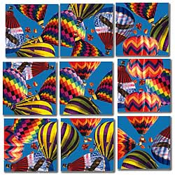 Hot Air Balloons Scramble Squares® picture