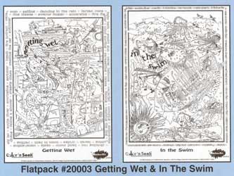 Color 'n Seek Getting Wet & In The Swim Flatpack picture