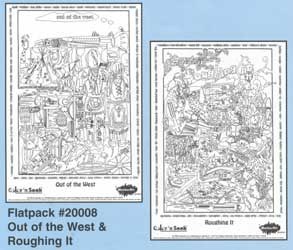 Color 'n Seek Out West/Roughing It Flatpack picture
