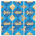 Ancient Egypt Scramble Squares®
