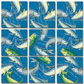 Deep Sea Fish Scramble Squares®