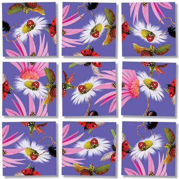 Ladybugs Scramble Squares® picture