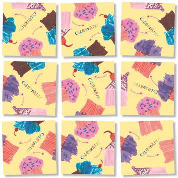 Cupcakes, Scramble Squares picture