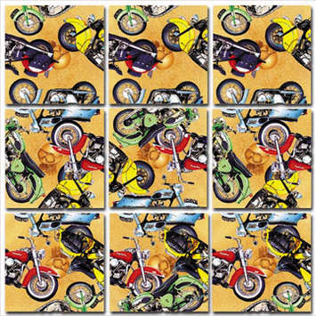 Classic Motorcycles Scramble Squares® picture