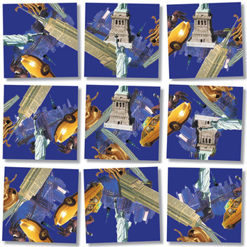 New York, New York Scramble Squares® picture