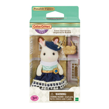 Town Girl Series - Stella Hopscotch Rabbit picture