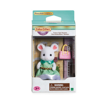Town Series Girl - Marshmallow Mouse picture