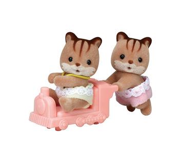 Hazelnut Chipmunk Twins picture