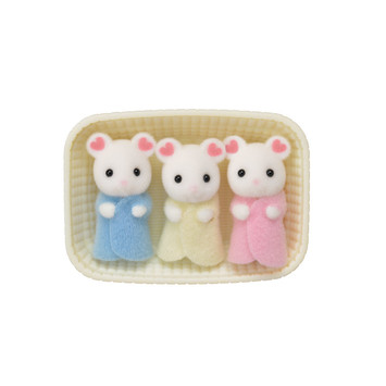 Marshmallow Mouse Triplets picture