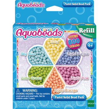 Pastel Solid Bead Pack picture