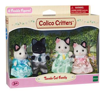 Tuxedo Cat Family picture