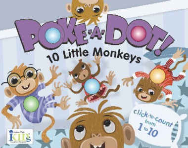 Poke-a-Dot!: 10 Little Monkeys picture