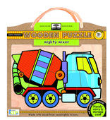 green start wooden puzzles: mighty mixer
