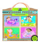 green start wooden puzzles: little princess