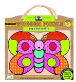 green start wooden puzzles: busy butterfly