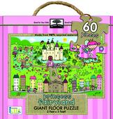 green start™ giant floor puzzles: princess fairyland