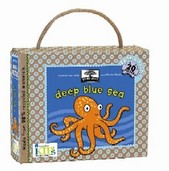 green start book + puzzle sets: deep blue sea