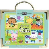 green start jigsaw puzzle box set play day