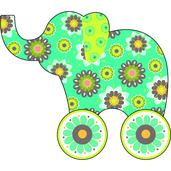 Now I'm Growing! Little Rollers: Little Elephant