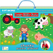 Soft Shapes Chunky Puzzle Playsets: Busy Little Farm