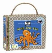 green start book + puzzle sets: deep blue sea
