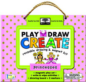 green start play, draw, create: princesses