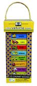 green start book tower: little vehicle books