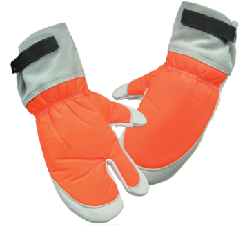Protective Chain Saw Mitts picture