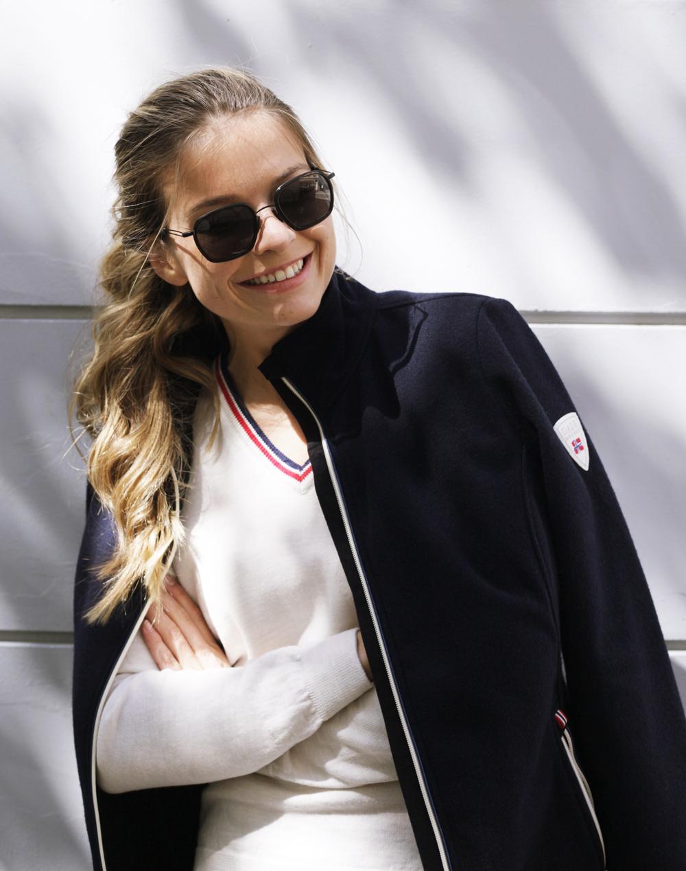Hafjell Knitshell women's jacket WP (1)