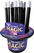 Rabbit's Hat Ten-Trick Magic Wands (21-Unit Display)