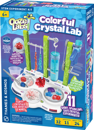Ooze Labs: Colorful Crystal Lab picture