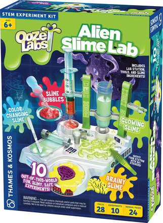 Ooze Labs: U.F.O. Alien Slime Lab picture