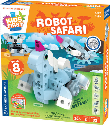 Kids First: Robot Safari - Introduction to Motorized Machines picture