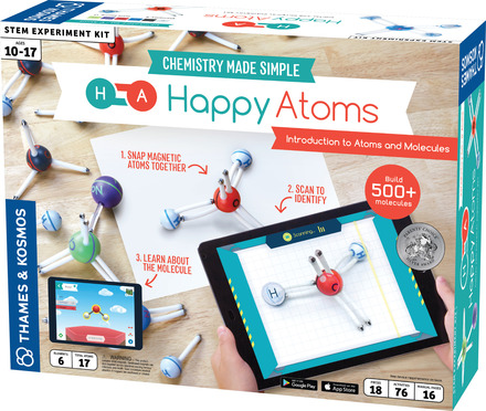 Happy Atoms Introductory Set (17 Atoms) picture