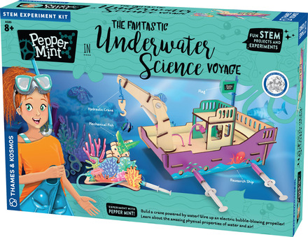 Pepper Mint in the Fantastic Underwater Science Voyage picture