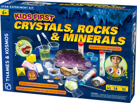 Kids First: Crystals, Rocks, and Minerals Kit picture