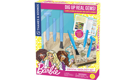 Barbie Crystal Geology picture