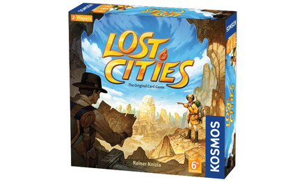 Lost Cities - Card Game - With 6th Expedition picture