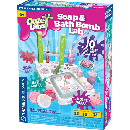 Ooze Labs: Soap & Bath Bomb Lab picture