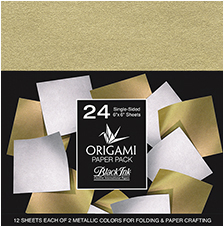 Metallic Mulberry Origami Pack picture
