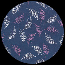 """Floating Feathers-Navy 19.75"""" x 27"""" picture"""