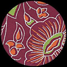 """Primrose-Fuchsia 21"""" x 29"""" picture"""