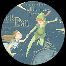 """Peter Pan in Neverland, 27"""" x 36"""" picture"""