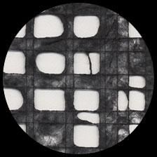"Gossamer Ultralite Mulberry-Black 21"" x 30"" picture"