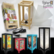 """5"""" x 11"""" Paper Fusion Lamp Kit - Black additional picture 1"""